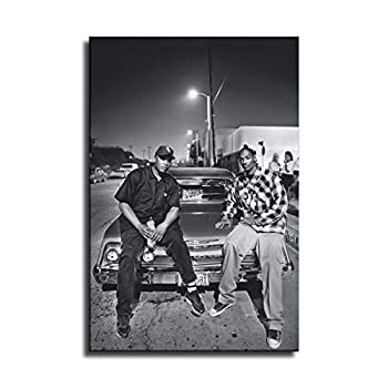 FINDEMO Dr.Dre and Snoop Dogg Poster Painting on Canvas Bedroom Wall Art Decoration Pictures Home Decor -161  unframed,24x36inch