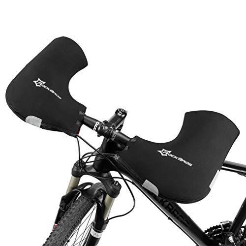 ROCKBROS(ロックブロス)自転車 ハンドルカバー 防寒 防風 バイク グローブ マウンテンバイク ママチャリ 防...