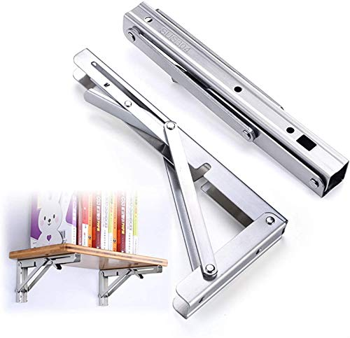 Soporte de estante plegable, soportes de mesa de mesa de mesa de...