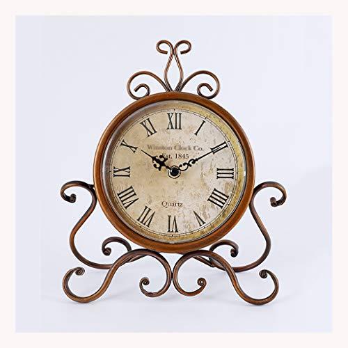 Reloj de Mesa Estilo europeo Retro reloj de reloj de reloj s
