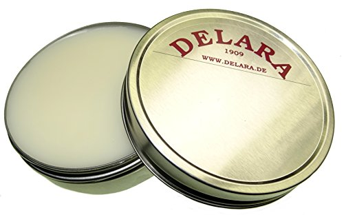 DELARA Pfotenbalsam für Hunde und Katzen, hochwertige Pfotenschutz-Creme in DAB-Qualität zur wirksamen Pflege empfindlicher und rissiger Pfoten – Made in Germany