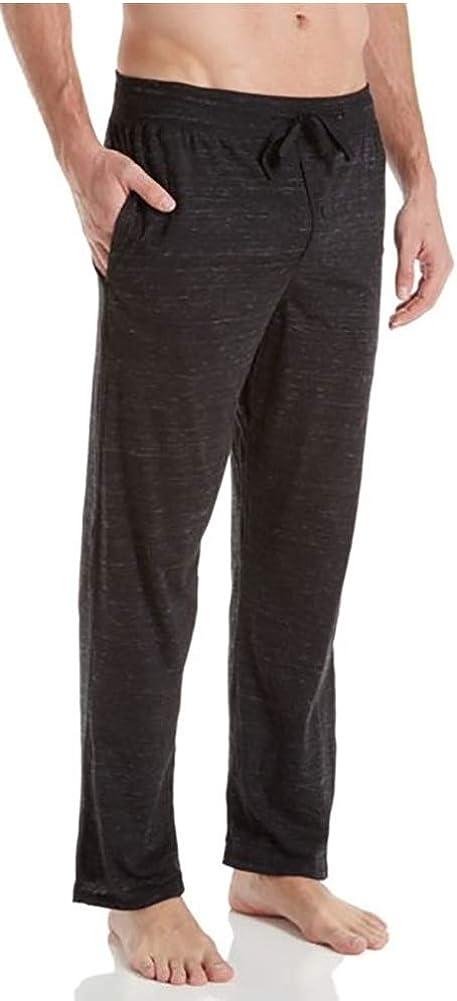 Hanes - Big Men's Space Dyed Jersey Knit Sleep Pant, Black 41582-7X