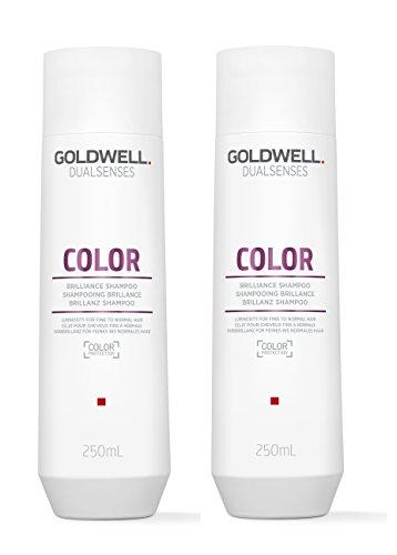2er Color Brilliance Shampoo Dualsenses Goldwell Farbpflege für feines bis normales Haar 250 ml