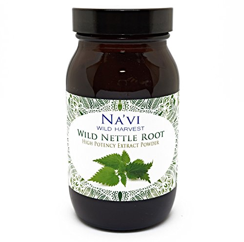 Full Spectrum Nettle Root Extract Powder - Wild Harvested (90g)