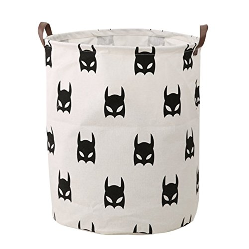Fhouses Wäschekorb des neuen schmutzigen Wäschekorbes des Ausgangskorbs kreativer Size 40 * 50 cm (Batman)