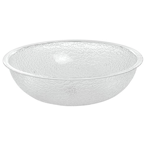 Cambro Manufacturing PSB10176 Camwear Bowl Pebbled Clear 10'' (1 Each)