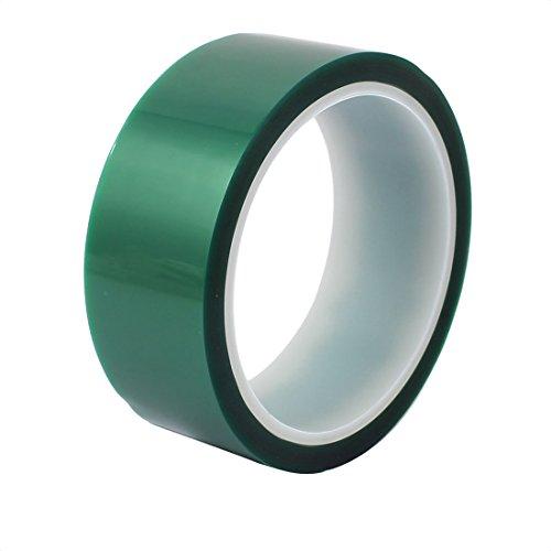 Aexit 35 mm x 33 Meter grünes PET-Klebeband Hochtemperaturbeständiges Klebeband für PCB (9f1c8374a1c27e7b80fa7a146d6040d6)