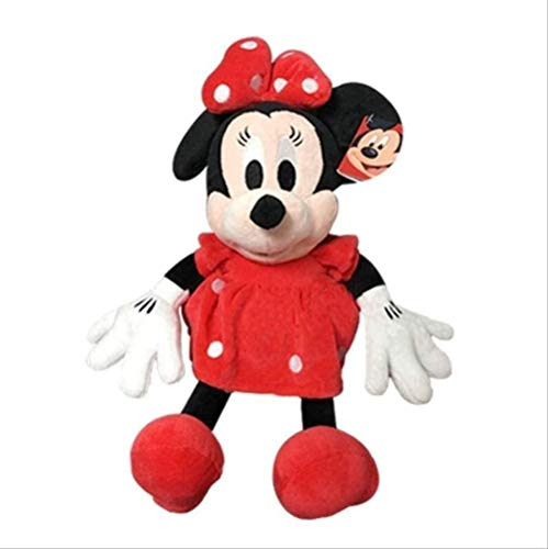 N-L 30cm Mickey Mouse Minnie Plush Toys Cute Goofy Dog Pluto Dog Stuffed Toys Cartoon Figure friendfriend Gift 30cm red Minnie Gifts