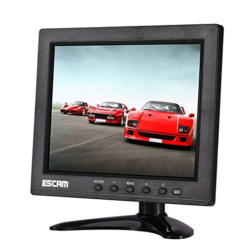 ZTH T08 8 inch TFT LCD 1024x768 Monitor with VGA & HDMI & AV & BNC & USB for PC CCTV Security