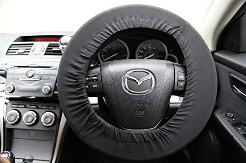Disklok DE 86515 Black Steering Wheel Protection Cover - Black