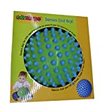 Edushapes - Pelota para el desarrollo táctil, visual y psicomotricidad +-18 cm de la casa Edushapes Ref: Dot Ball Verde