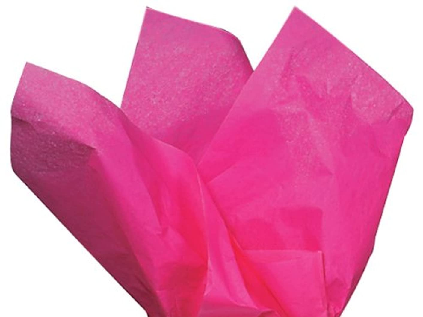 Hot Pink Tissue Paper 15 Inch X 20 Inch - 100 Sheets