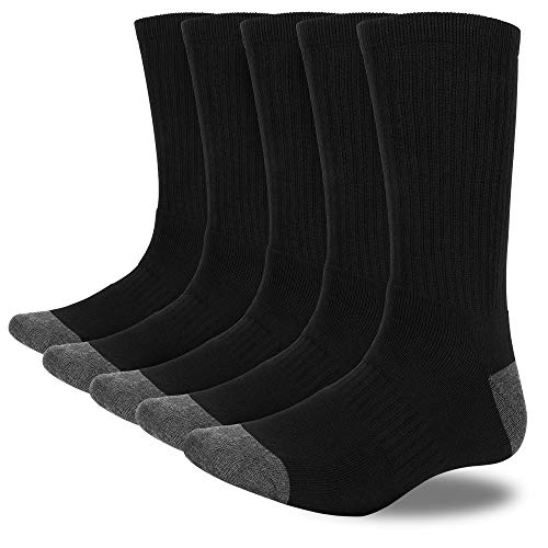 MOSOTECH Calcetines Termicos Deporte Hombre, 5 Pares Calcetines Invierno Hombres para Running,...