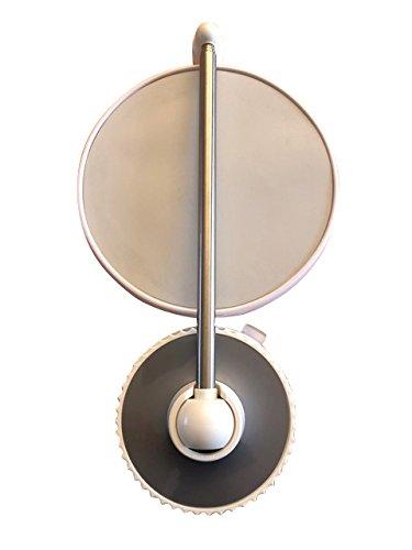 TWISTMIRROR Miroir Intelligent grossissant 10x Couleur: Argent Gris