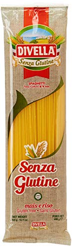 Spaghetti Sin Gluten Pasta Italiana Divella 400g