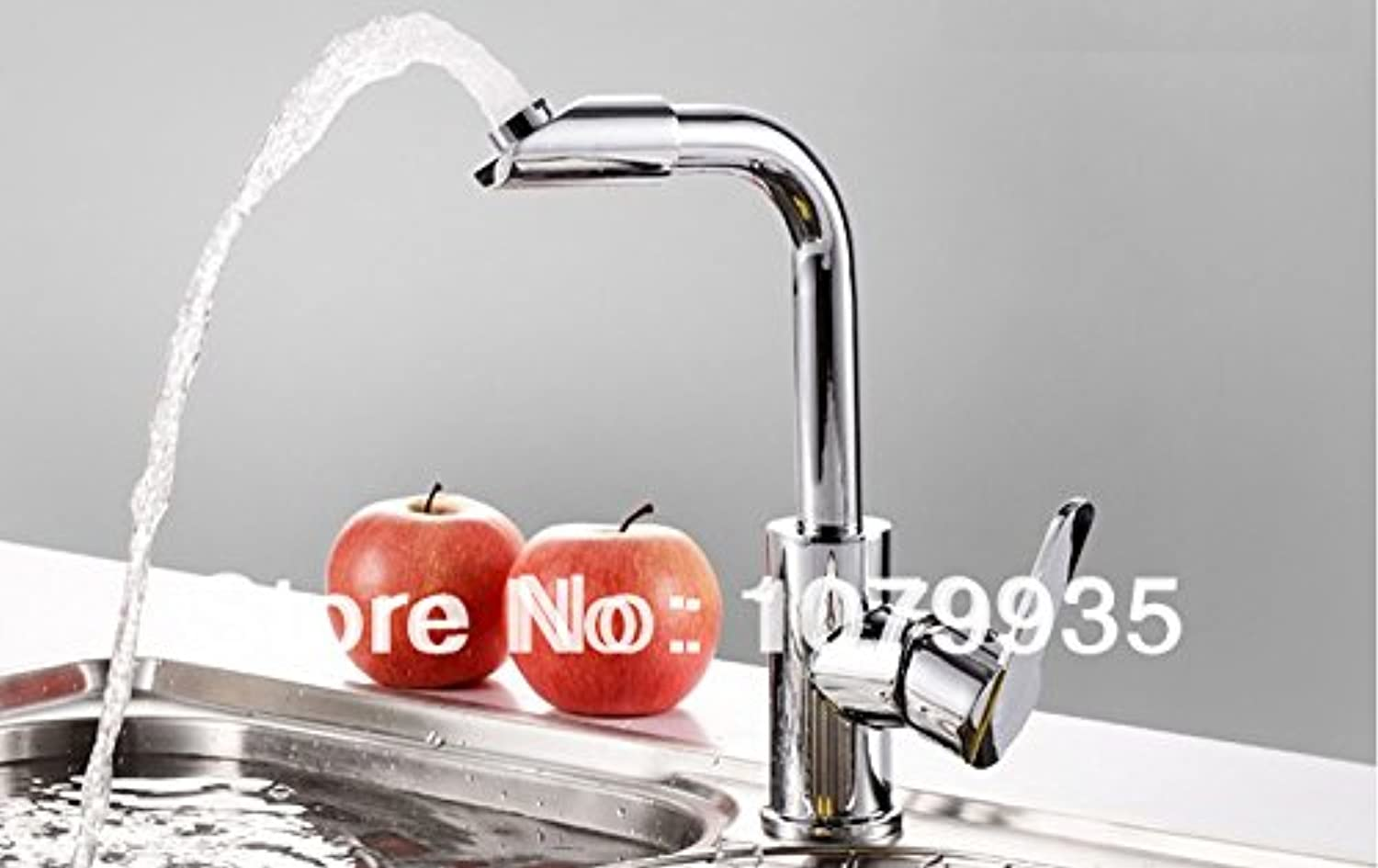 U-Enjoy Sanitary Ware Hot Top Quality and Cold Faucet Kitchen Home Bathroom Kitchen Faucet Water Tap Mixer (Free Shipping)
