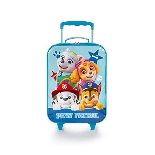 PAW Patrol Kids' Basic Soft Side Rolling Luggage for Kids 17 inch