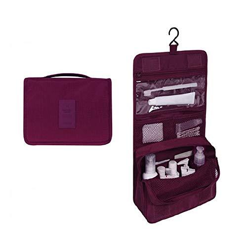 LYX Trousses à maquillage et articles de toilette de voyage Sacs de rangement pour le voyage Sacs et compartiments de rangement pour répondre à vos besoins Fermeture à glissière solide et solide