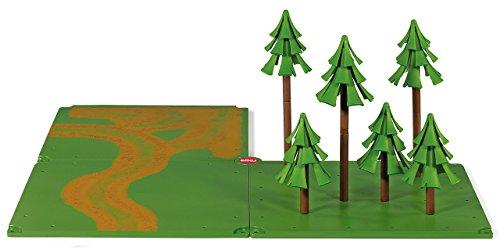 siku 5699, Feldwege und Wald, Kunststoff, Grün, Ideal für den Farmbereich