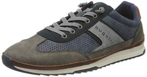 bugatti Herren 321A3A015900 Sneaker, Mehrfarbig, 42 EU