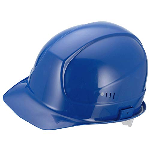 Uvex Arbeitsschutzhelm super boss, blau, inkl. Helmtasche