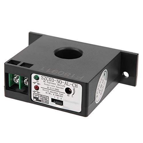 EVTSCAN último interruptor de detección de corriente normalmente abierto interruptor de detección de corriente ajustable AC 0.5-200A SZC03-NO-AL-CH