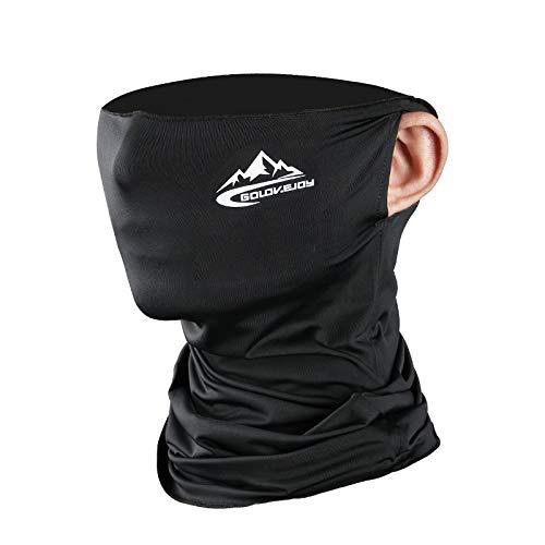 フェイスカバー【冷感】ネックガード UVカット 紫外線対策 フェイスカバーメンズ 耳かけタイプ UPF50+ 日焼け防止 UVフェイスガード 伸縮・通気性 呼吸しやすい