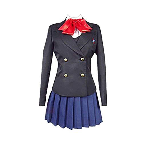 COSPARKY Anime Eine Andere Misaki MEI Cosplay Halloween Kostüm Schuluniform für Frauen Männer Full Set Hohe Qualität Frühling und Sommer Anzug