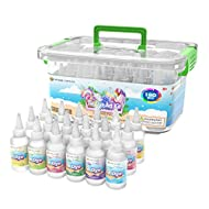 Desire Deluxe Tie Dye Kit – Set of 18 Colours Ink Tie-Dye Kits for Dyeing Fabric, Clothes – Creative...