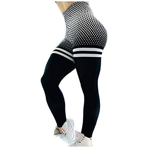 JIAYOUA Damen Sport Leggings Slim Fit...