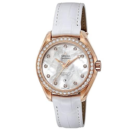 [OMEGA(オメガ)] 腕時計 シーマスター アクアテラ 231.58.34.20.55.003 レディース ホワイト [並行輸入品]