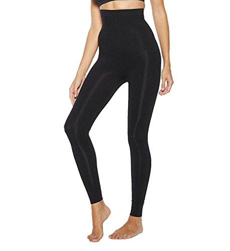 Ahh By Rhonda Shear Women's Sweet Tootsie Leggings, Black, XL