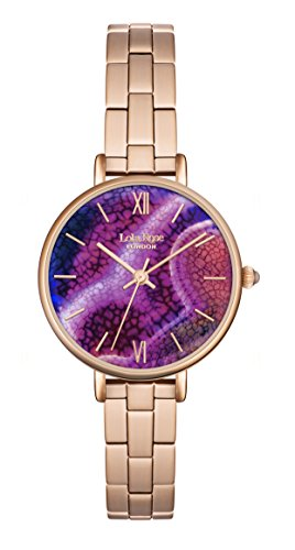 Lola Rose-Orologio da donna al quarzo con Display analogico, colore: viola...