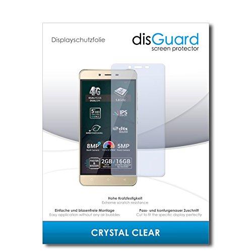 disGuard® Bildschirmschutzfolie [Crystal Clear] kompatibel mit Allview P7 Pro [2 Stück] Kristallklar, Transparent, Unsichtbar, Extrem Kratzfest, Anti-Fingerabdruck - Panzerglas Folie, Schutzfolie