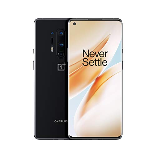 "OnePlus 8 Pro Smartphone Onyx Black, 6.78"" 3D Fluid AMOLED Display 120Hz,..."