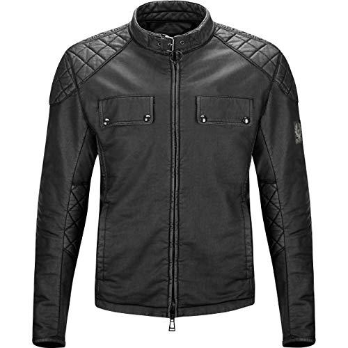 Belstaff Motorradjacke mit Protektoren Motorrad Jacke X Man Racing Blouson schwarz XL, Herren, Chopper/Cruiser, Ganzjährig, Textil