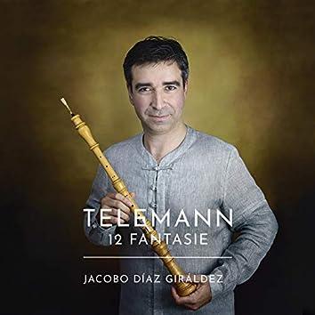 Telemann: 12 Fantasie