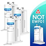 Waterdrop Replacement Refrigerator Water Filter, Compatible with WF2CB, PureSource2, NGFC2000, FC100, 9916, 469916, EWF2CBPA (Pack of 3)