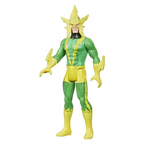 Figura de acción de 9,5cm de Electro Retro 375 Collection de Hasbro Marvel Legends