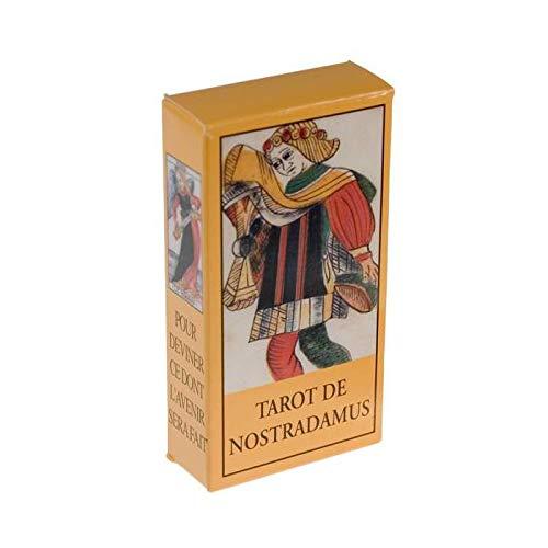 Tarot de Nostradamus - Jeu de 78 Cartes