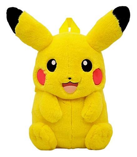 ZJSXIA Lindo Juguete de Peluche de Pokemon, Juguete de Peluche Pikachu, Pokémon Pikachu Pikachu Mochila de Juguete de Peluche, la Mejor Fiesta de Regalo Personalizado 40 cm Peluche picachu