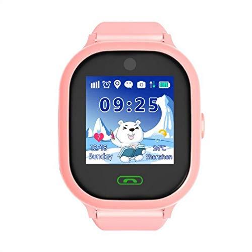 QWERASD GPS-tracker voor kinderen, intelligente afstandsbediening, timer-wekker, SOS voor hulp met twee wegen, oproepen, waterdicht, voor kinderen, verjaardag