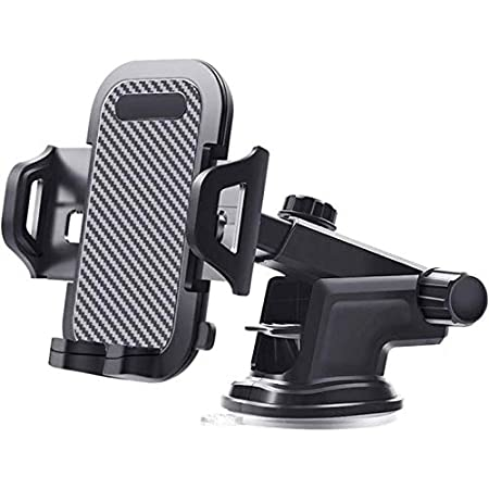 Upgraded car Phone Holder is Used for car's Powerful Suction Cup Dashboard Windshield Universal Universal Ball Three-Dimensional Adjustable Mobile Phone Holder, Available for Various Models 4' to 7'