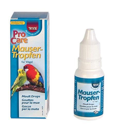 Trixie – Mausertropfen, Vögel 15 ml - 2