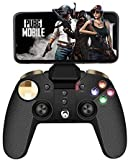 Wireless Gamecontroller,PowerLead Drahtloses Handy Gamepad, Mobiles Handyspiel mit Tragbarem Joystick für Android/IOS/PC