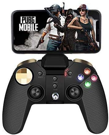 Wireless Gamecontroller,PowerLead Drahtloses Handy Gamepad, Mobiles Handyspiel mit Tragbarem Joystick für Android/IOS/PC, Unterstützt IOS13.4 und höher nicht