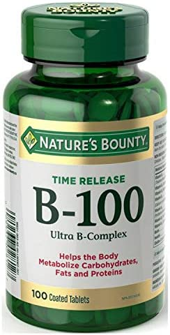 NEW before selling ☆ Nature's Bounty Ultra Balanced Max 86% OFF B-100 100 Release Time T Complex