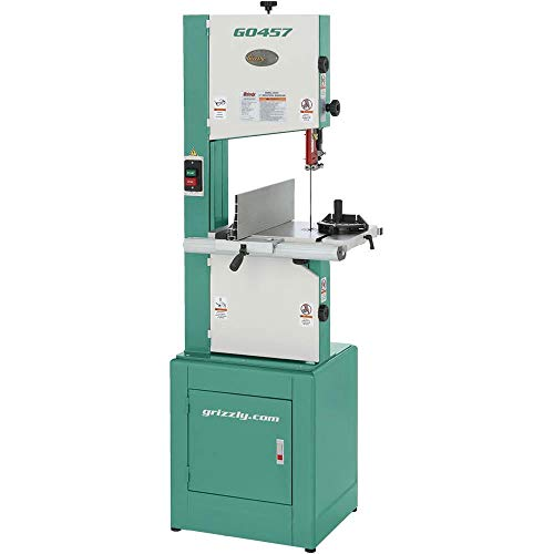 Grizzly G0457 Deluxe Bandsaw, 14'