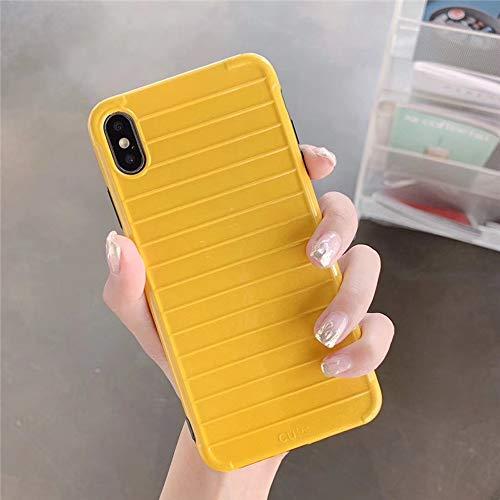 JJYUY telefoonhoes strepen-cacikleurig telefoonhoesje voor iPhone XS MAX XR X 6 6s 7 8plus case voor iPhone XS softshell achterkant afdekking Shell, For iphone XS, 1