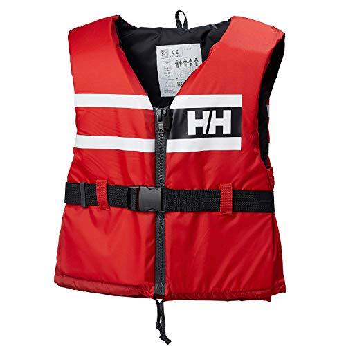 Helly Hansen Sport Comfort Chaleco de Ayuda a la flotabilidad, Unisex Adulto, Rojo Alerta, XXS